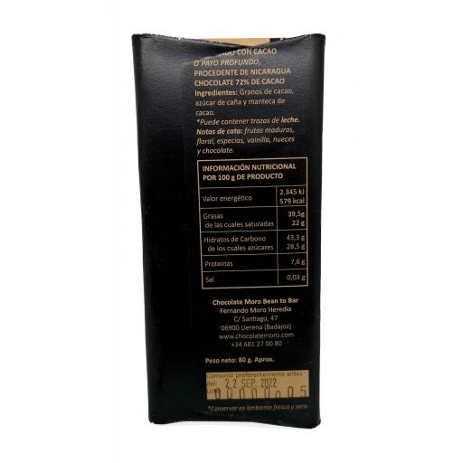 Chocolate Negro O´PAYO 72% - Chocolates Moro [1]