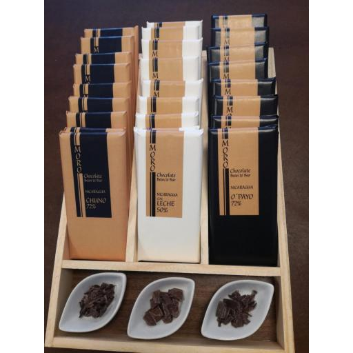 Chocolate Madagascar Millot 72%  - Chocolates Moro [2]