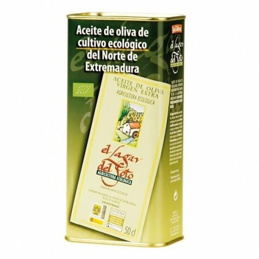 Aceite Oliva Virgen Extra Lagar del Soto Ecológico lata 500 ml.