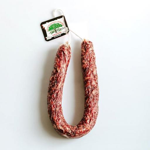 Chorizo Ibérico blanco Extra Valentin [1]