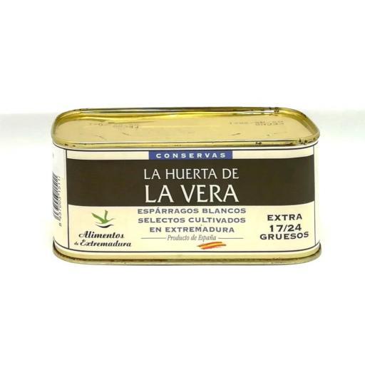 Esparragos medios La Huerta de la Vera lata