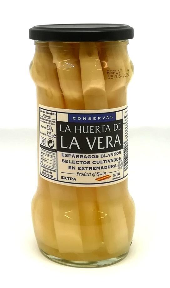 Esparragos blancos La Huerta de la Vera tarro gruesos