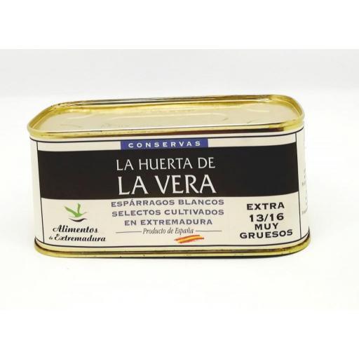 Esparragos blancos muy gruesos La Huerta de la Vera lata
