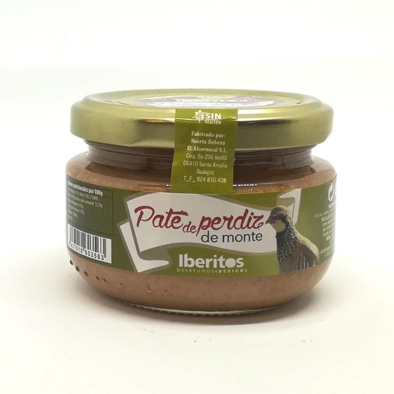 Iberitos Paté de Perdiz de Monte.