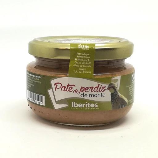 Iberitos Paté de Perdiz de Monte. [0]
