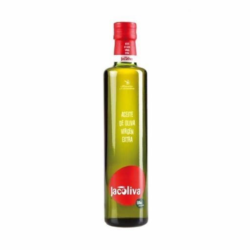 Aceite de Oliva Virgen Extra Jacoliva 500 ml. Cristal