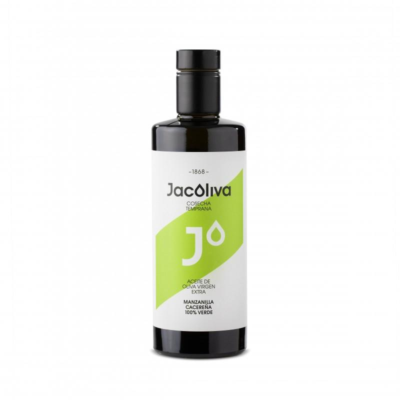 Jacoliva Aceite de Oliva Virgen Extra monovarietal Manzanilla Cacereña 500 ml