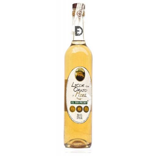 Licor con orujo y miel Tio Picho