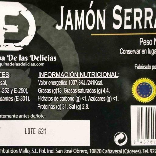Jamón La Esquina de las Delicias [1]