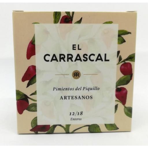 Pimiento de piquillo asado al natural El Carrascal 250 ml. [2]