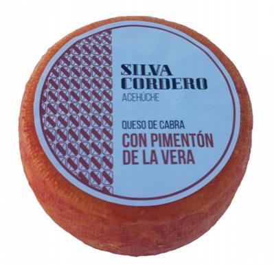 Silva Cordero pasta dura con pimentón de la Vera