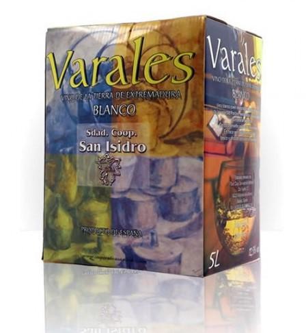Vino Varales Blanco Bag in Box 5 litros