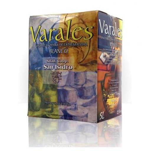 Vino Varales Blanco Bag in Box 5 litros