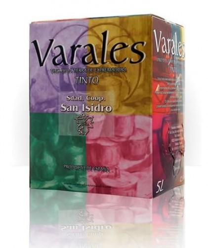 Vino Varales Tinto Bag in Box 5 litros