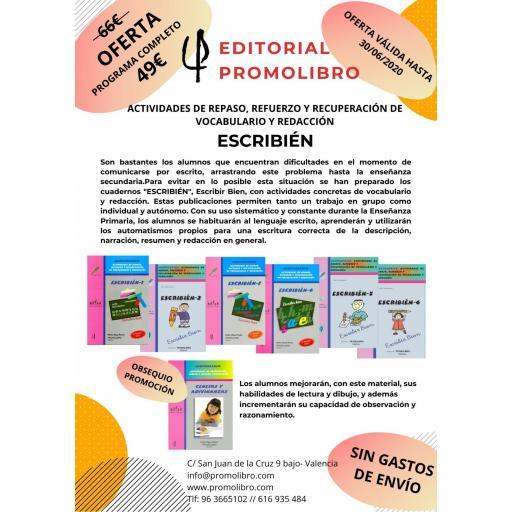 OFERTA ESCRIBIÉN. PROGRAMA COMPLETO