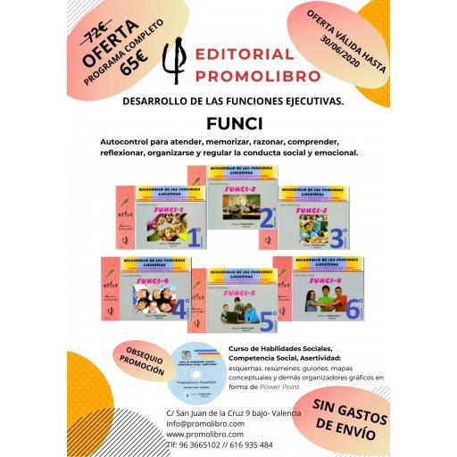 OFERTA. DESARROLLO DE LAS FUNCIONES EJECUTIVAS. FUNCI. PROGRAMA COMPLETO