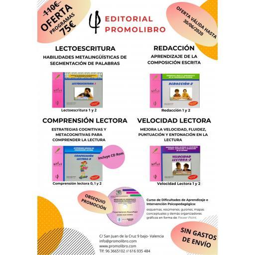 OFERTA. PROGRAMAS LECTURA