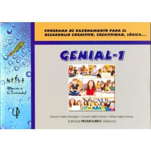 075.- GENIAL-1. Programa de razonamiento para el desarrollo cognitivo, creatividad, lógica,...