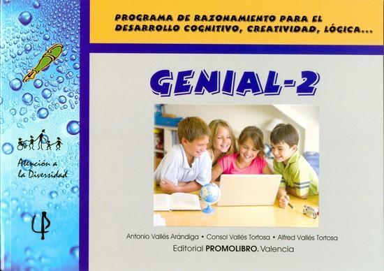 076.- GENIAL-2. Programa de razonamiento para el desarrollo cognitivo, creatividad, lógica, ...