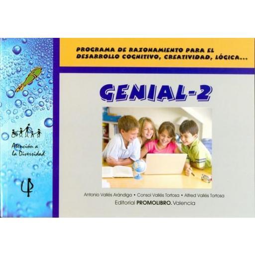 076.- GENIAL-2. Programa de razonamiento para el desarrollo cognitivo, creatividad, lógica, ... [0]