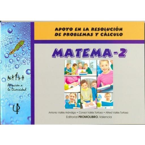 056.- MATEMA-2. Apoyo en la resolución de problemas y cálculo.