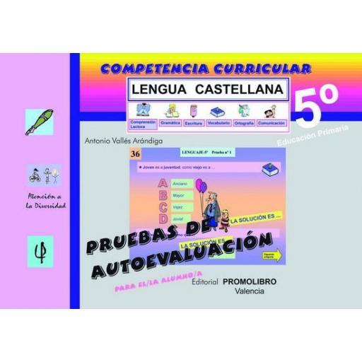 113/114.- COMPETENCIA CURRICULAR. LENGUA CASTELLANA. ED. PRIMARIA 5º. AUTOEVALUACIÓN Y SOLUCIONARIO