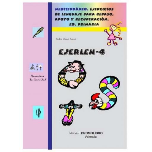 120.- EJERLÉN-4. Ejercicios de lenguaje para repaso, apoyo y recuperación. Educación Primaria