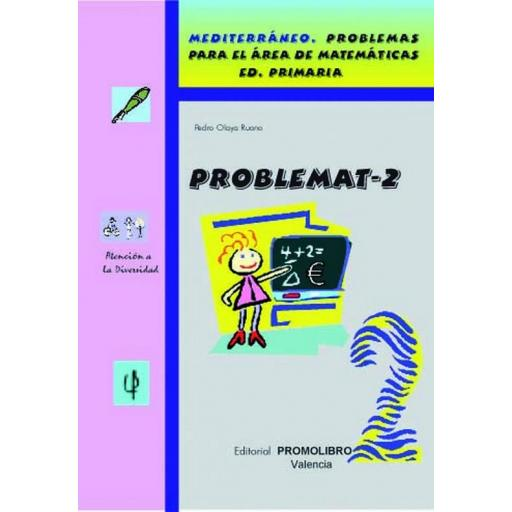 135.- PROBLEMAT-2. Mediterráneo. Problemas para el área de matemáticas. Ed. Primaria.