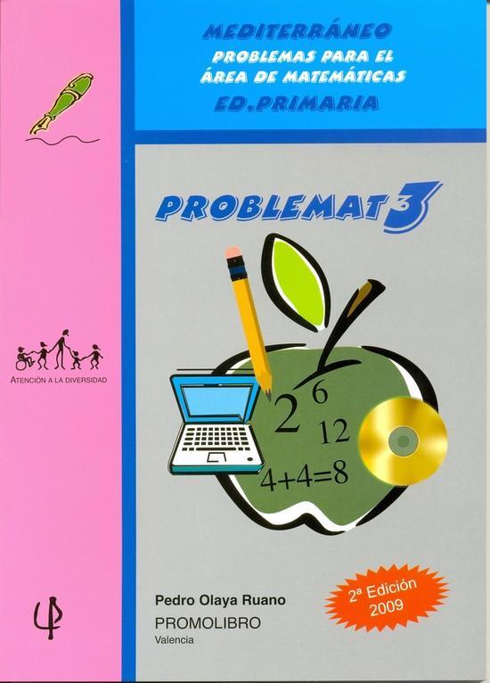 136.- PROBLEMAT-3. Mediterráneo. Problemas para el área de matemáticas. Ed. Primaria.