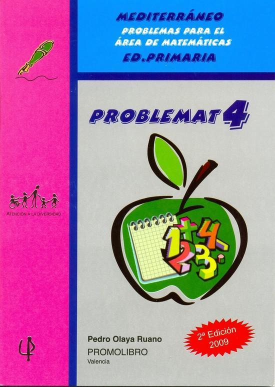 137.- PROBLEMAT-4. Mediterráneo. Problemas para el área de matemáticas. Ed. Primaria.