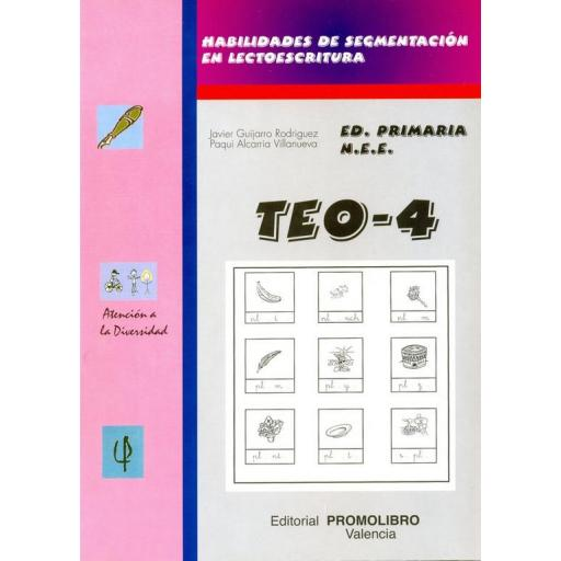 143.- TEO-4. Habilidades de segmentación en lectoescritura (pl- bl- fl- cl- gl).