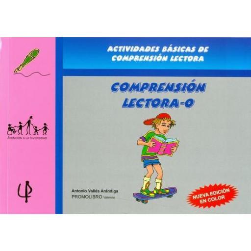 149.- COMPRENSIÓN LECTORA-0 (Ed. color) Incluye CD ROm