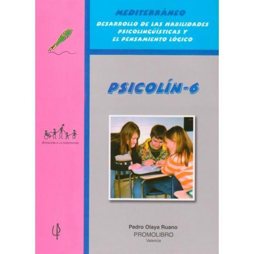 204.- PSICOLÍN-6.  Desarrollo de las Habilidades Psicolingüísticas y el Pensamiento lógico. Educación Primaria