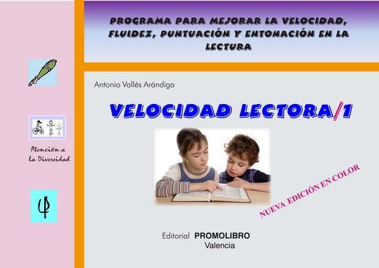 053.- VELOCIDAD LECTORA-1 (Edición color)