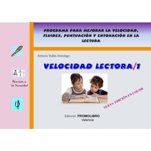 053.- VELOCIDAD LECTORA-1 (Edición color) [0]