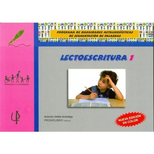 058.- LECTOESCRITURA-1 (Edición en color)