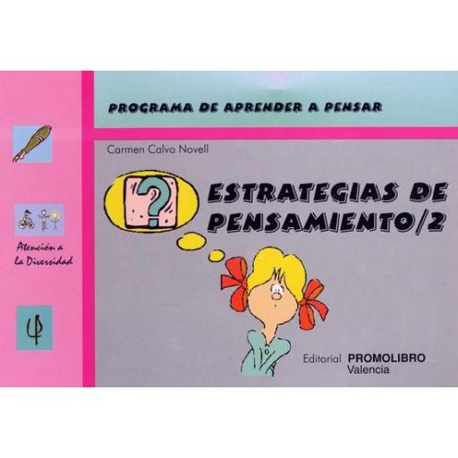 068.- ESTRATEGIAS DE PENSAMIENTO-2. Programa para aprender a pensar