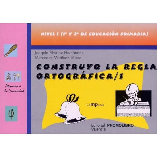 071.- CONSTRUYO LA REGLA ORTOGRÁFICA-1. Nivel I (1º y 2ª de Educación Primaria).