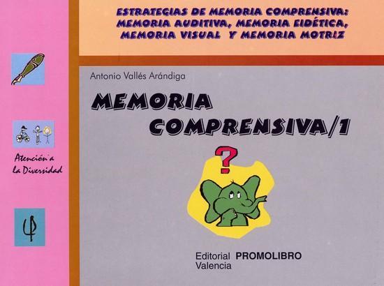 077.- MEMORIA COMPRENSIVA-1. Estrategias de memoria comprensiva: memoria auditiva, memoria eidética, memoria visual y memoria motriz.