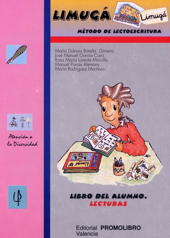 089.- LIMUGÁ.  Método de lectoescritura. Cuaderno del alumno. Lecturas