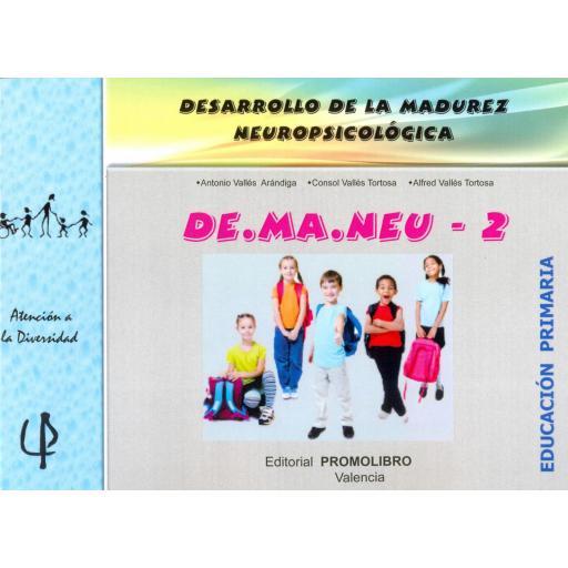 225.- DE.MA.NEU -2. DESARROLLO DE LA MADUREZ NEUROPSICOLÓGICA. Ed. Primaria.