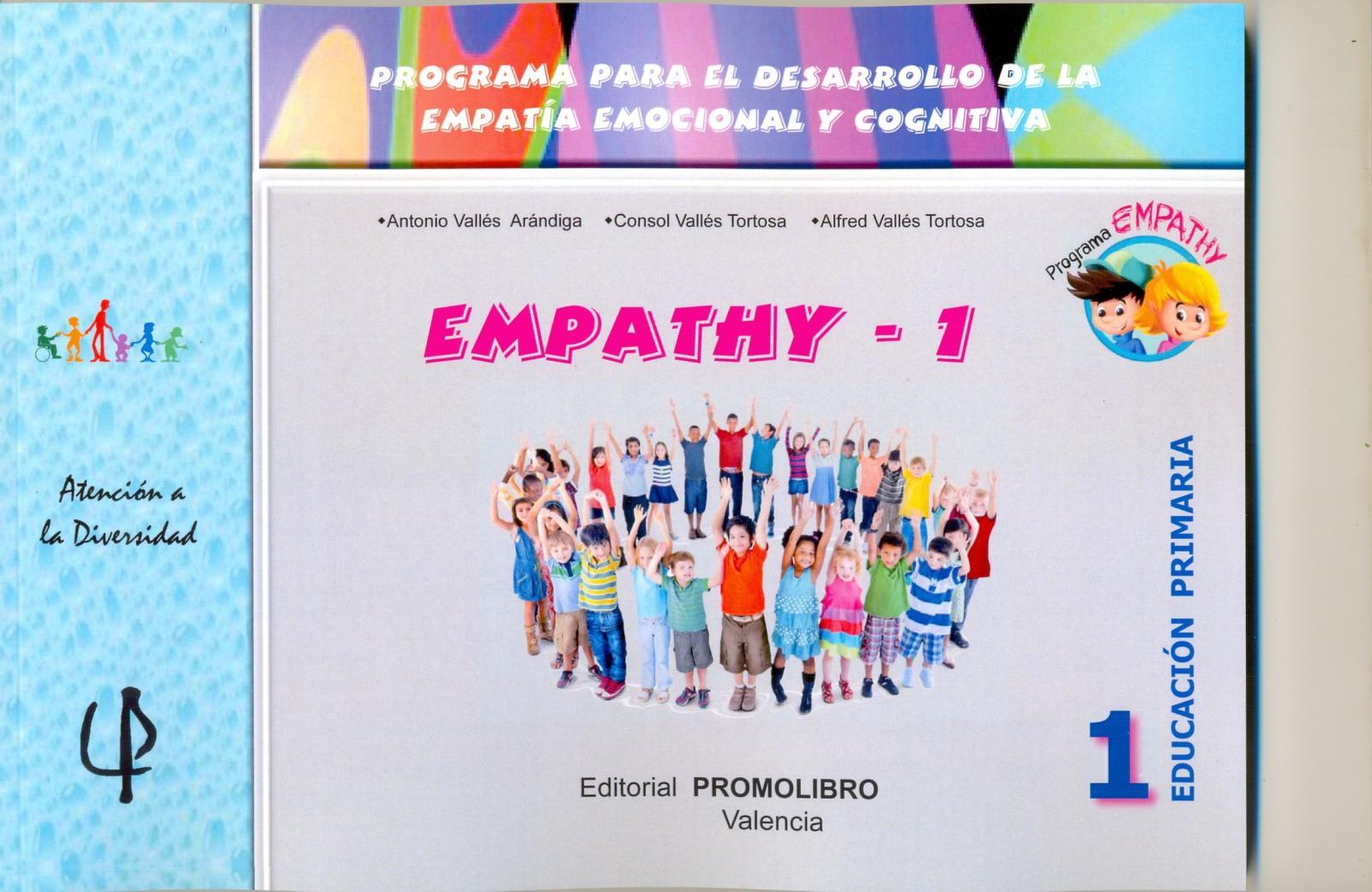 226.- EMPATHY-1. Programa para el desarrollo de la empatía emocional y cognitiva. 1º Educación Primaria