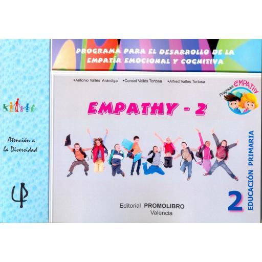 227.- EMPATHY-2. Programa para el desarrollo de la empatía emocional y cognitiva. 2º Educación Primaria