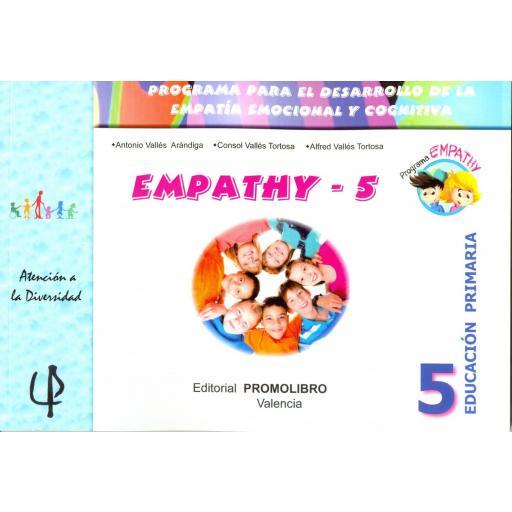 230.- EMPATHY-5. Programa para el desarrollo de la empatía emocional y cognitiva. 5º Educación Primaria
