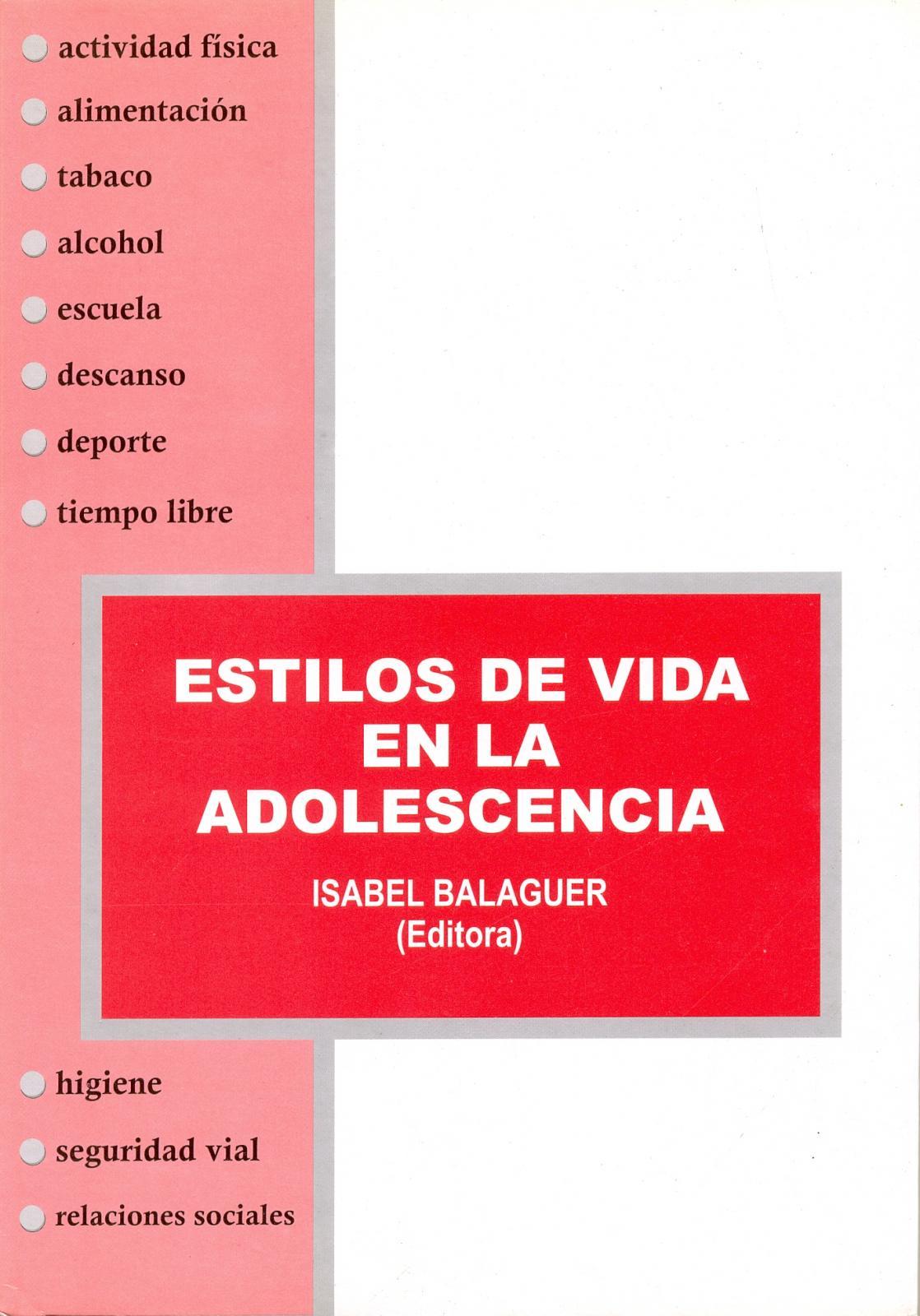 ESTILOS DE VIDA EN LA ADOLESCENCIA