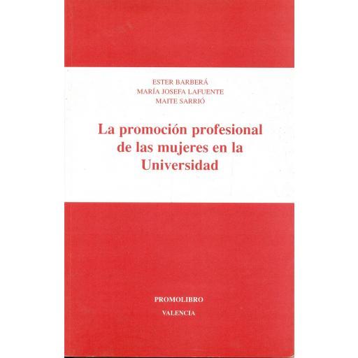 LA PROMOCIÓN PROFESIONAL DE LAS MUJERES EN LA UNIVERSIDAD