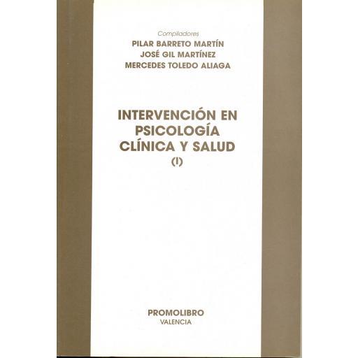 INTERVENCIÓN EN PSICOLOGÍA CLÍNICA [0]