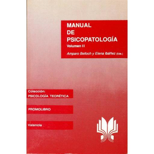 MANUAL DE PSICOPATOLOGÍA Vol. II [0]