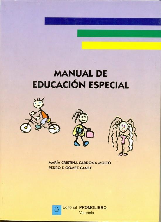 MANUAL DE EDUCACIÓN ESPECIAL