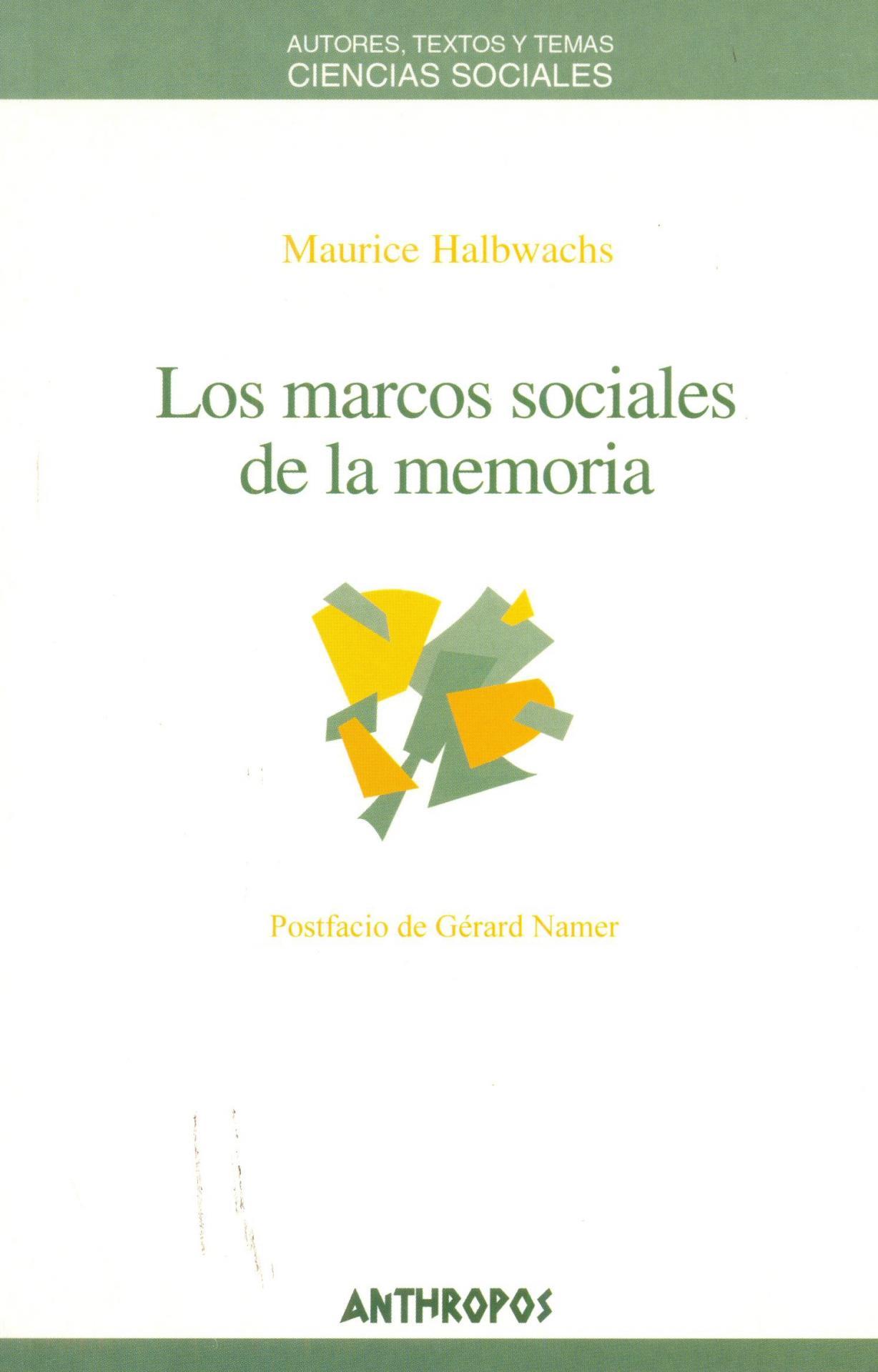 LOS MARCOS SOCIALES DE LA MEMORIA. De Gérard, P.